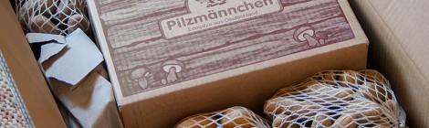 Kartoffel- und Pilzlieferung