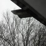 Sturm auf dem Balkon