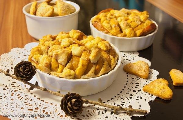 Apfel-Spekulatius-Tartelettes und Kekse