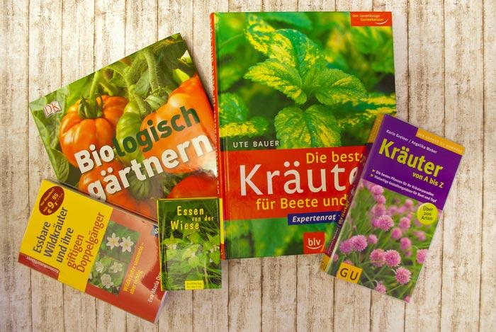 Gartenbücher-Sammlung