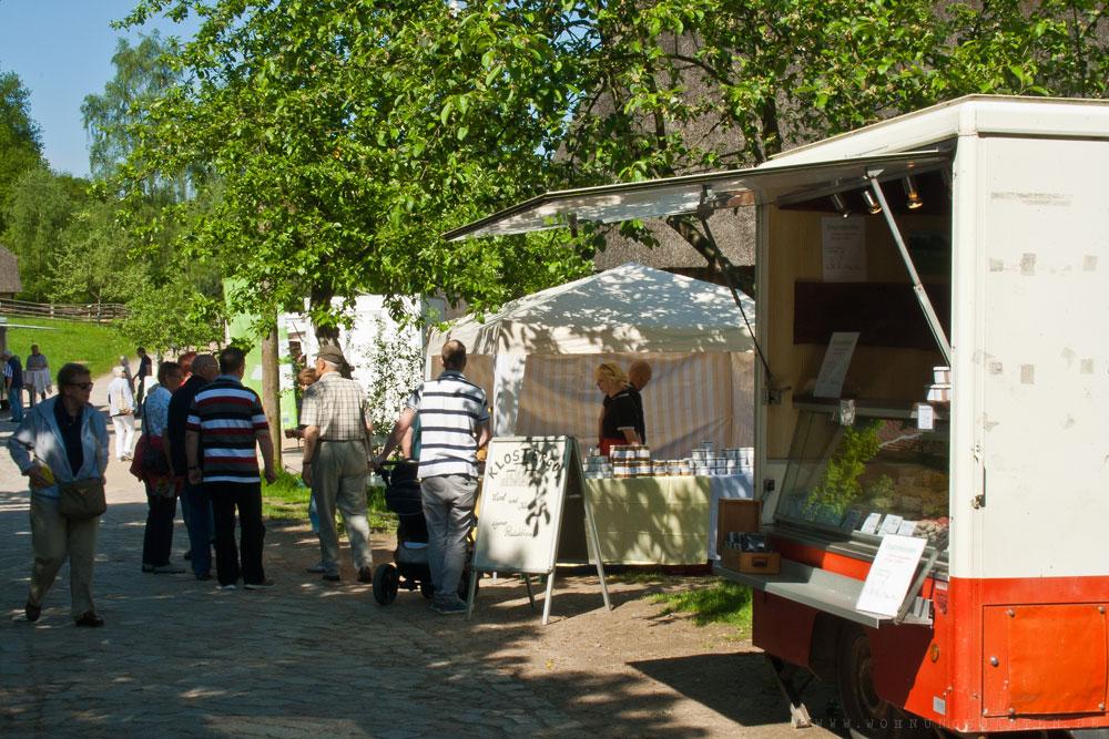 Käsemarkt im Freilichtmuseum am Kiekeberg