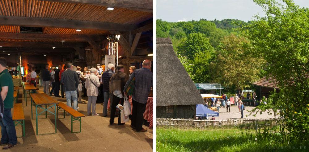 Käsemarkt im Frelichtmuseum am Kiekeberg