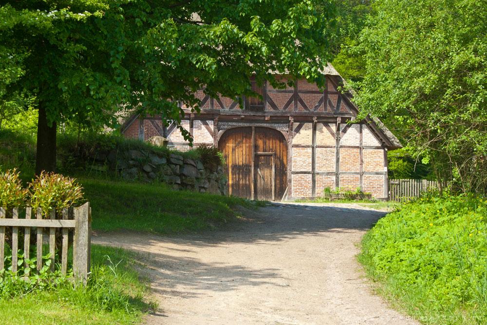 Altes Bauernhaus im Freilichtmuseum am Kiekeberg