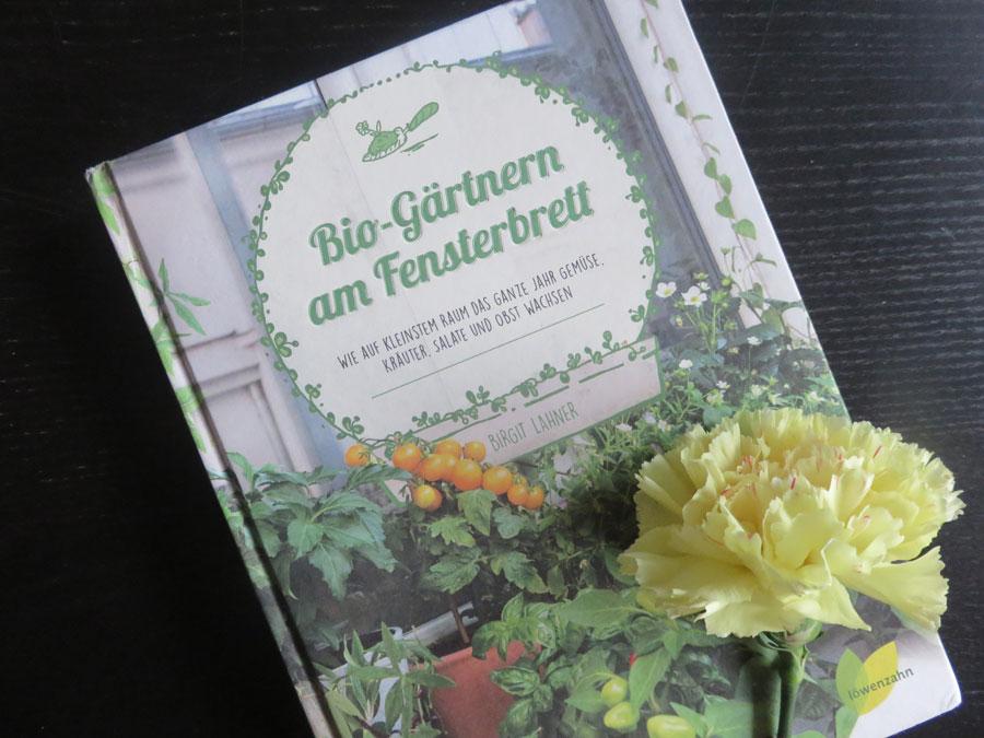"""Buch """"Bio-Gärtnern am Fensterbrett"""""""