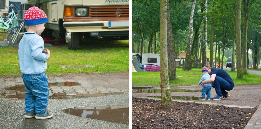 Campingplatz-Gelände