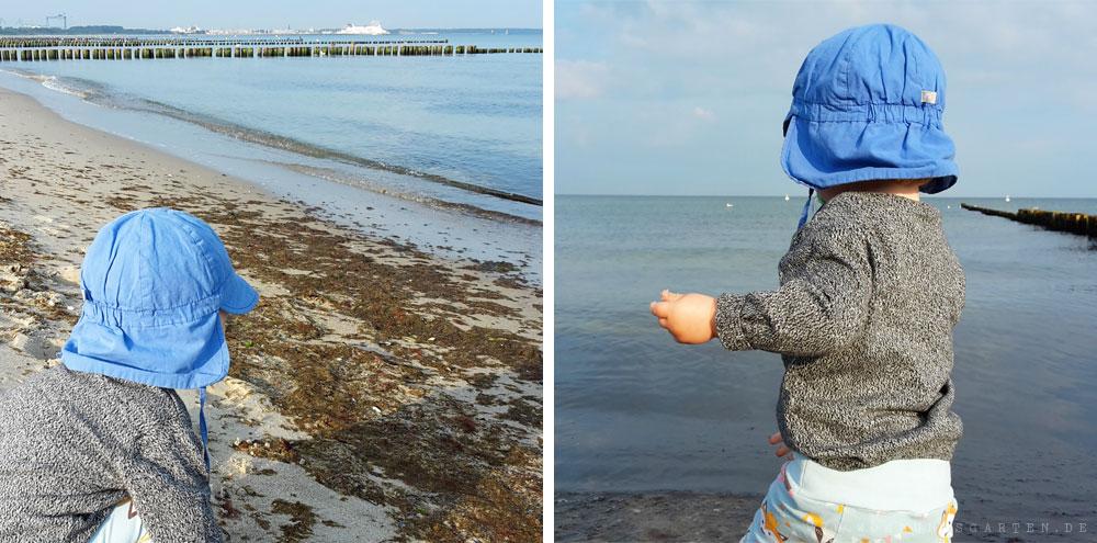 Tristan am Strand