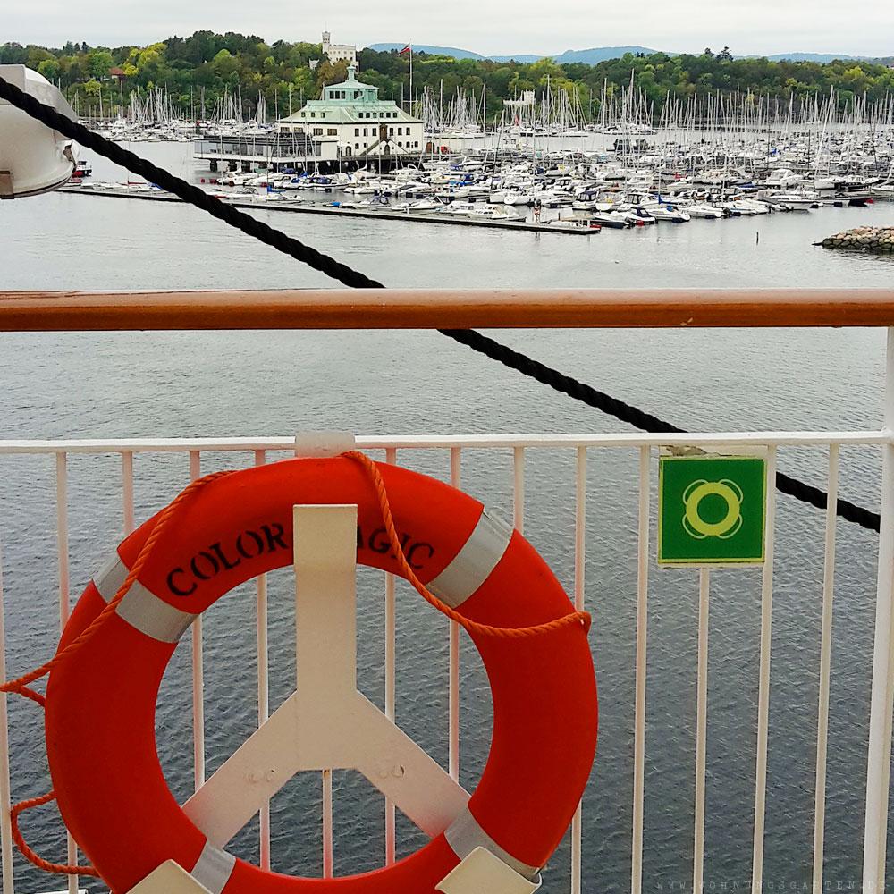 Angekommen im Osloer Hafen