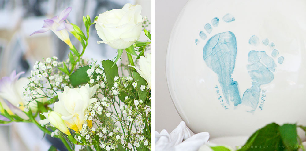 Vase und Blumen