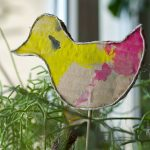 Wir basteln für Ostern: Blumenstecker