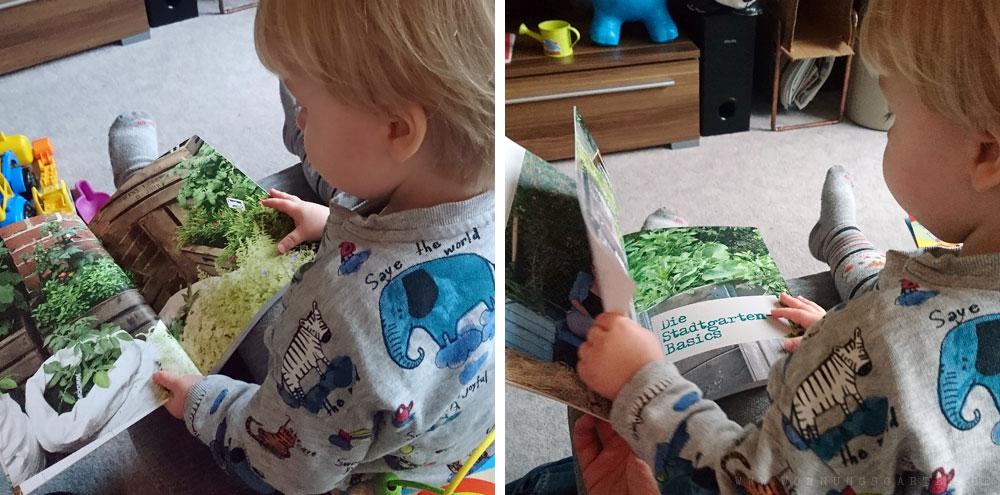 """Tristan liest """"Mein kleiner Stadtgarten"""""""