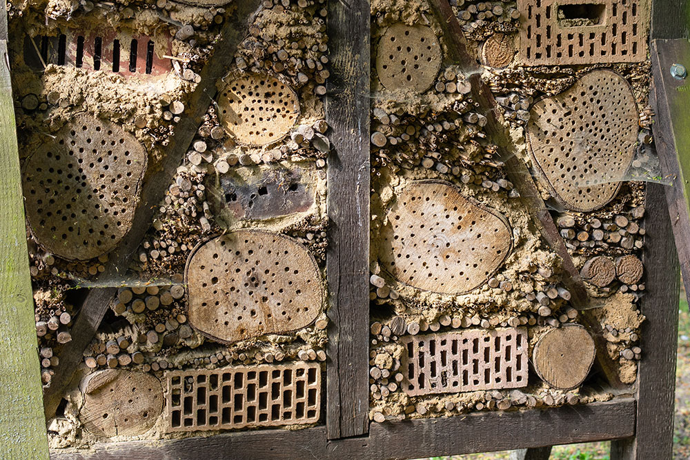 Altes Insektenhotel