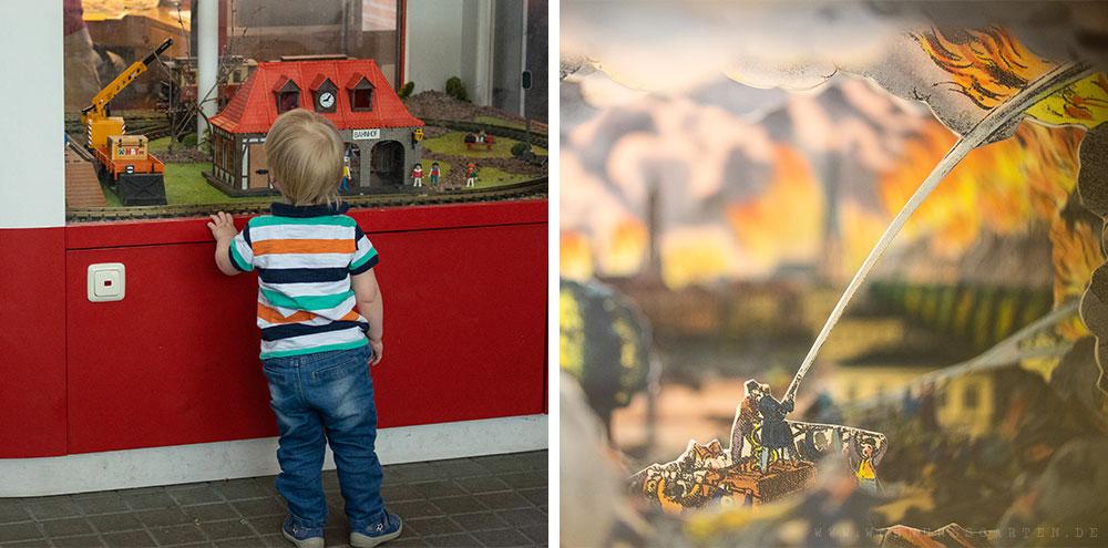 Tristan entdeckt das Feuerwehrmuseum