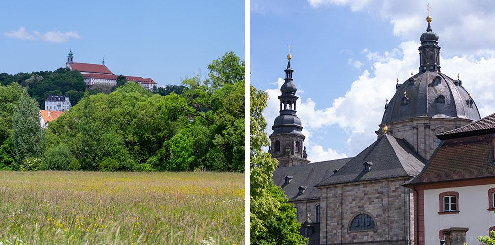 Ansichten der Stadt Fulda