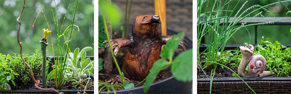 Gartendeko vom Gartenfest